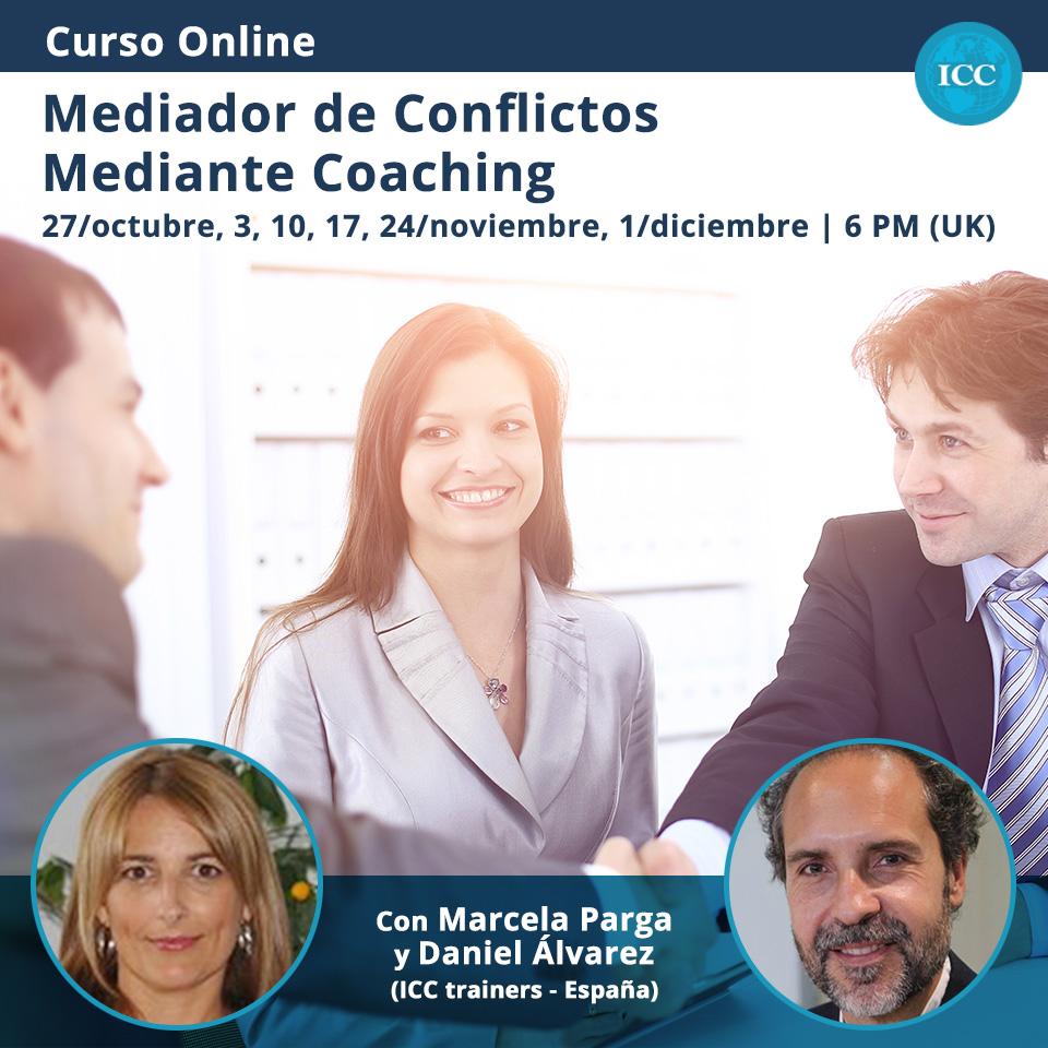 Curso Online: Mediador de Conflictos mediante Coaching
