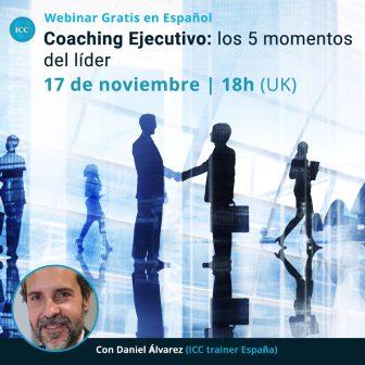Webinar gratis: Coaching Ejecutivo – los 5 momentos del líder